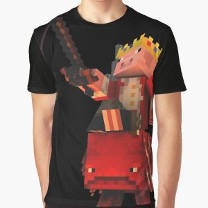 dream smp technoblade xd Graphic T-Shirt RB0206 product Offical Technoblade Merch