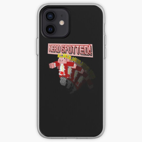Technoblade NERD SPOTTED! T-Shirt iPhone Soft Case RB0206 product Offical Technoblade Merch