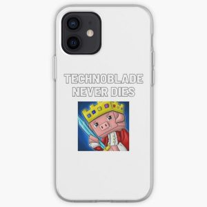 Technoblade - Technoblade Never Dies iPhone Soft Case RB0206 product Offical Technoblade Merch