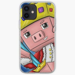 technoblade king merch iPhone Soft Case RB0206 product Offical Technoblade Merch