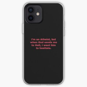 Technoblade Quote when god sends me i want him to hesitate iPhone Soft Case RB0206 product Offical Technoblade Merch