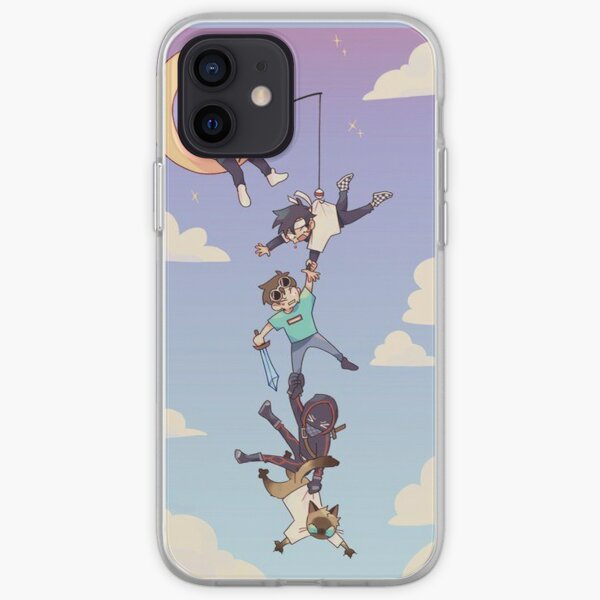Technoblade Moon iPhone Soft Case RB0206 product Offical Technoblade Merch