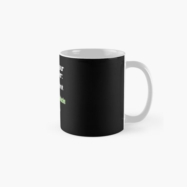 Choose your character - Technoblade (2) Classic Mug RB0206 product Offical Technoblade Merch