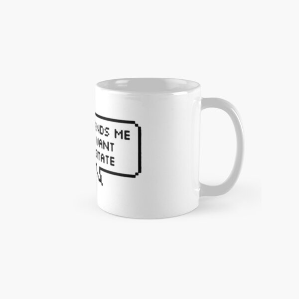 Technoblade; Text To God Classic Mug RB0206 product Offical Technoblade Merch