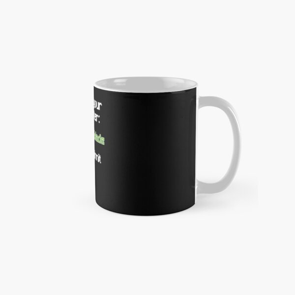 Choose your character - Technoblade Classic Mug RB0206 product Offical Technoblade Merch