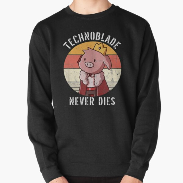 technoblade never dies Pullover Sweatshirt RB0206 product Offical Technoblade Merch