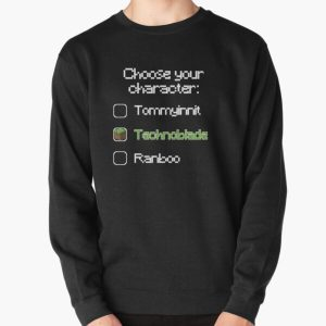 Choose your character - Technoblade (2) Pullover Sweatshirt RB0206 product Offical Technoblade Merch