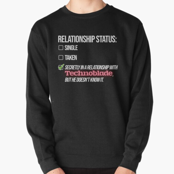 Relationship with Technoblade Pullover Sweatshirt RB0206 product Offical Technoblade Merch
