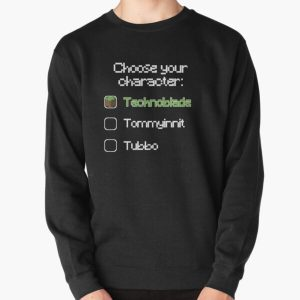 Choose your character - Technoblade Pullover Sweatshirt RB0206 product Offical Technoblade Merch