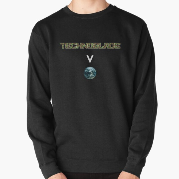 Technoblade above the world - Minecraft Pullover Sweatshirt RB0206 product Offical Technoblade Merch