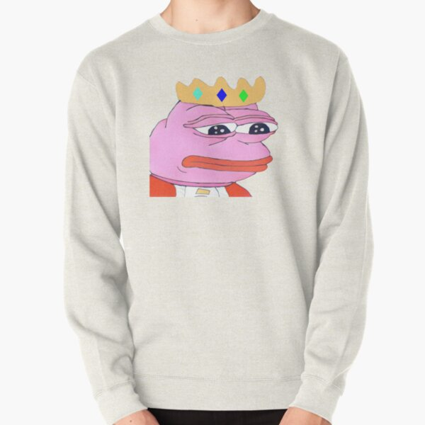 Technoblade pepe the frog meme Pullover Sweatshirt RB0206 product Offical Technoblade Merch