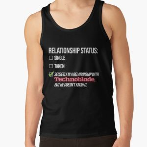 Relationship with Technoblade Tank Top RB0206 product Offical Technoblade Merch