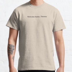 """""""Welcome home, Theseus"""" DreamSMP iconic line Technoblade to Tommyinnit L'Manburg Classic T-Shirt RB0206 product Offical Technoblade Merch"""