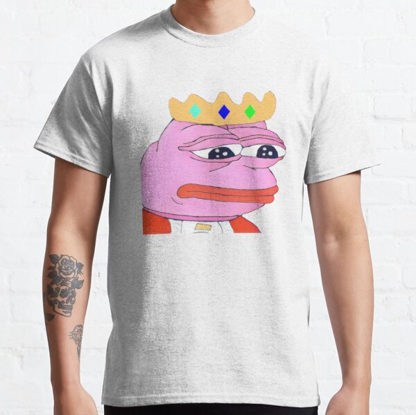 Technoblade pepe the frog meme Classic T-Shirt RB0206 product Offical Technoblade Merch