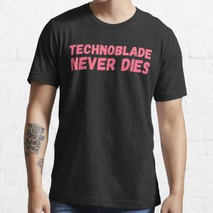 TECHNOBLADE NEVER DIES Essential T-Shirt RB0206 product Offical Technoblade Merch