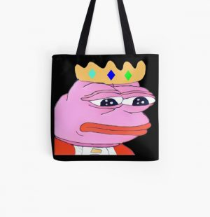 Technoblade pepe the frog meme All Over Print Tote Bag RB0206 product Offical Technoblade Merch