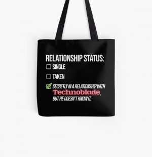 Relationship with Technoblade All Over Print Tote Bag RB0206 product Offical Technoblade Merch