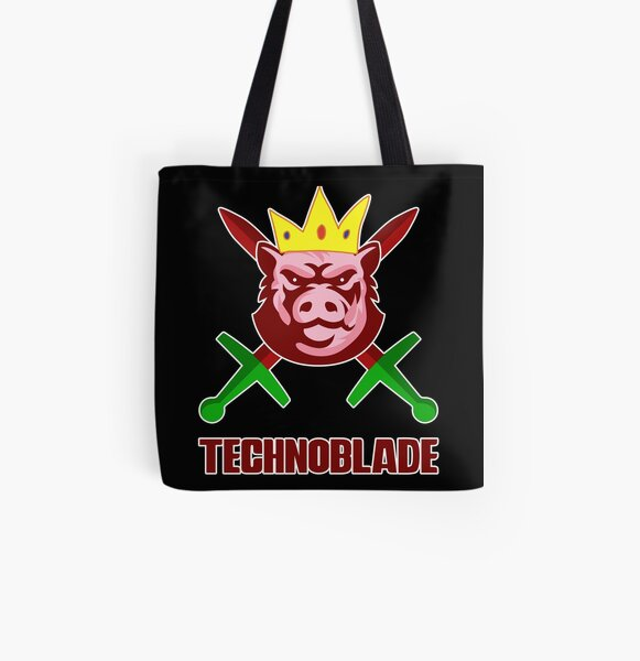 Technoblade All Over Print Tote Bag RB0206 product Offical Technoblade Merch