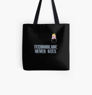Technoblade Never Dies Cosplay Video Gamer  All Over Print Tote Bag RB0206 product Offical Technoblade Merch