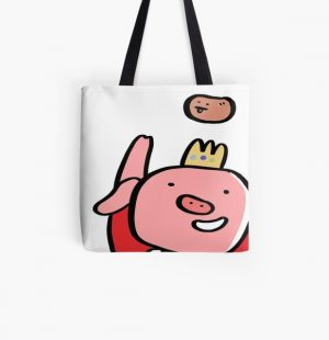Technoblade Potato War Technoblade Minecraft All Over Print Tote Bag RB0206 product Offical Technoblade Merch