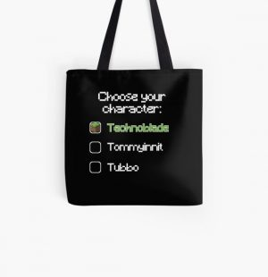 Choose your character - Technoblade All Over Print Tote Bag RB0206 product Offical Technoblade Merch