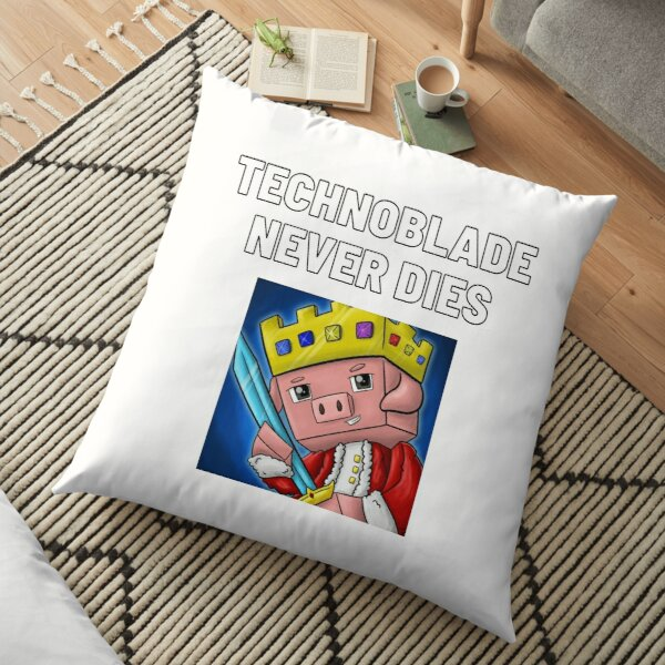 Technoblade - Technoblade Never Dies Floor Pillow RB0206 product Offical Technoblade Merch