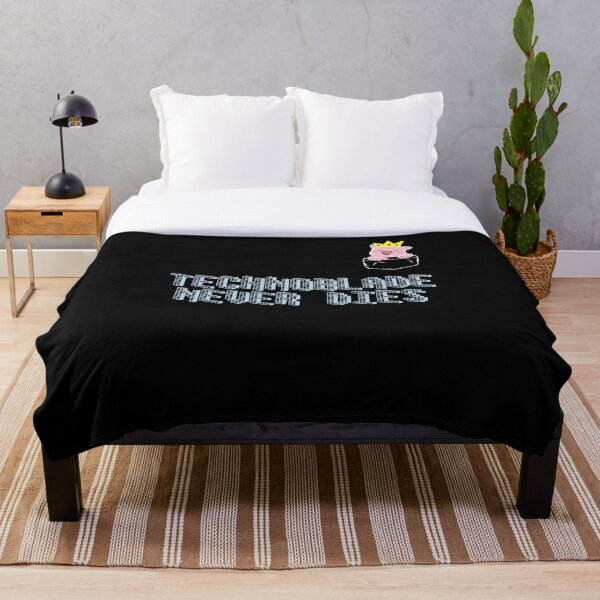 Technoblade Throw Blanket RB0206 product Offical Technoblade Merch