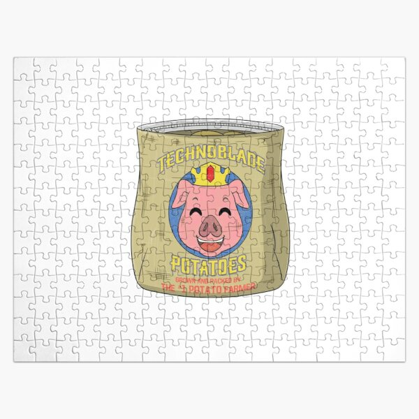 technoblade potatoes Jigsaw Puzzle RB0206 product Offical Technoblade Merch
