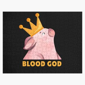 technoblade blood god , tecnoblade Jigsaw Puzzle RB0206 product Offical Technoblade Merch