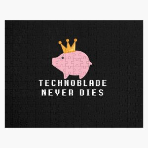 tecnoblade : technoblade never dies Jigsaw Puzzle RB0206 product Offical Technoblade Merch