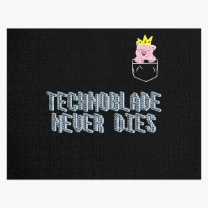 Technoblade Never Dies Cosplay Video Gamer  Jigsaw Puzzle RB0206 product Offical Technoblade Merch
