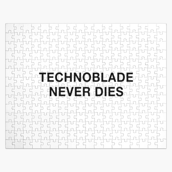 Technoblade never dies Jigsaw Puzzle RB0206 product Offical Technoblade Merch