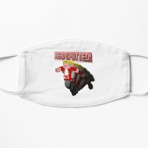 Technoblade NERD SPOTTED! T-Shirt Flat Mask RB0206 product Offical Technoblade Merch