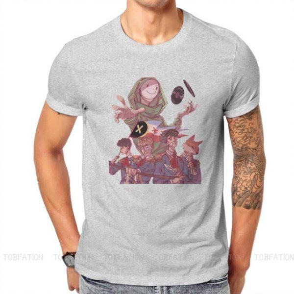 Dream Smp Technoblade T Shirt Classic Goth Summer Plus size Cotton Men s Tees Harajuku Crewneck 4.jpg 640x640 4 - Technoblade Store