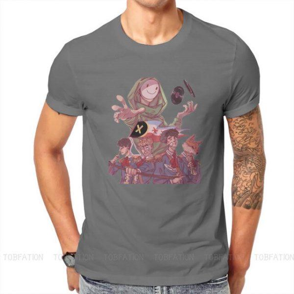 Dream Smp Technoblade T Shirt Classic Goth Summer Plus size Cotton Men s Tees Harajuku Crewneck 5.jpg 640x640 5 - Technoblade Store