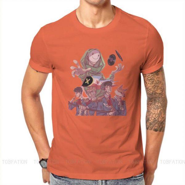 Dream Smp Technoblade T Shirt Classic Goth Summer Plus size Cotton Men s Tees Harajuku Crewneck 9.jpg 640x640 9 - Technoblade Store