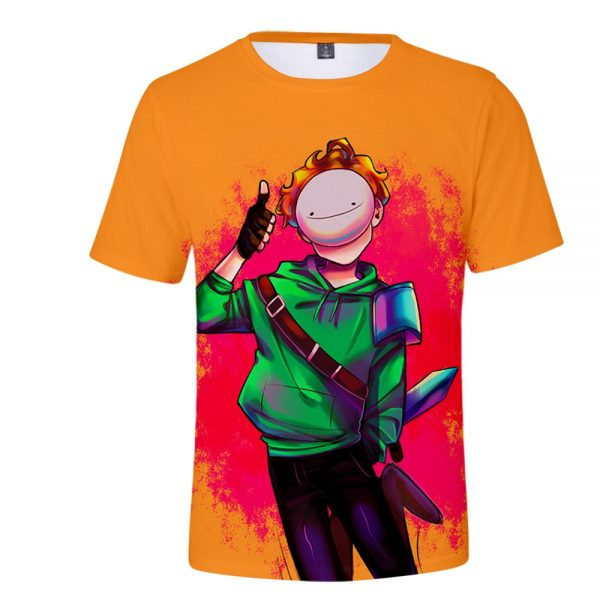 Dreamwastaken Technoblade GeorgeNotFound 3D Print Spring Summer Preppy Men Women Street Clothes T shirt Streetwear Kids - Technoblade Store