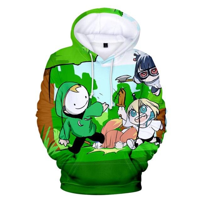 Men women Hoodie Aniem Dreamwastaken Technoblade GeorgeNotFound 3D Print Hoodies Sportswear Streetwear Boys girls K Kids 1.jpg 640x640 1 - Technoblade Store