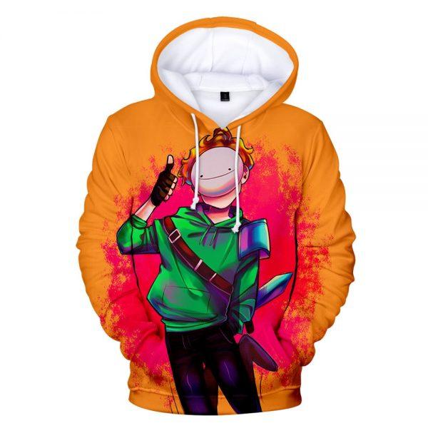Men women Hoodie Aniem Dreamwastaken Technoblade GeorgeNotFound 3D Print Hoodies Sportswear Streetwear Boys girls K Kids - Technoblade Store