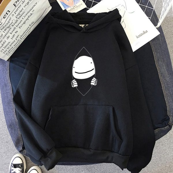 Technoblade Prints Hoodies Women Men Long Sleeve Dreams SMP Hooded Anime Fashion Sweatshirts Hot Sale Casual - Technoblade Store